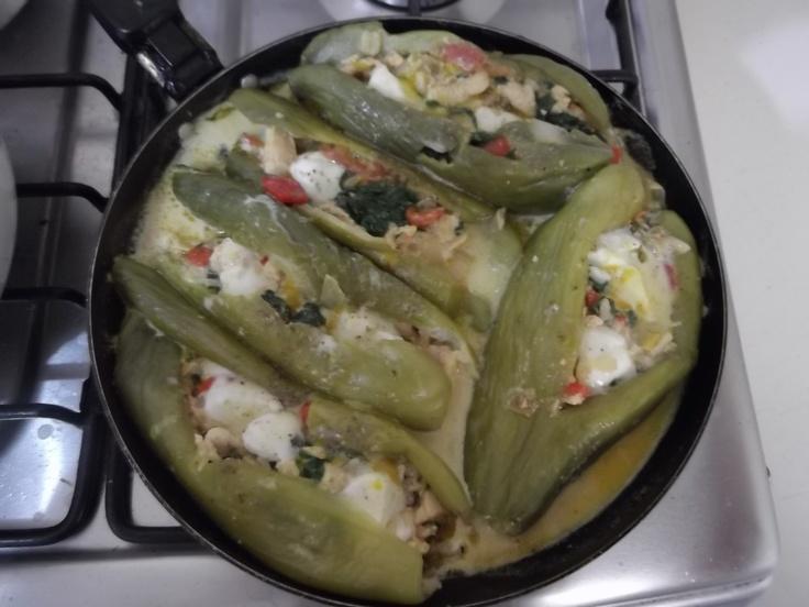 "stuffed vegetables = ""archuchas rellenas"""