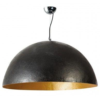 Hanglamp Sole XL zwart - goud