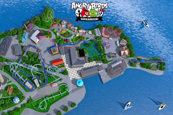 World's first Angry Birds theme park opens in Finland