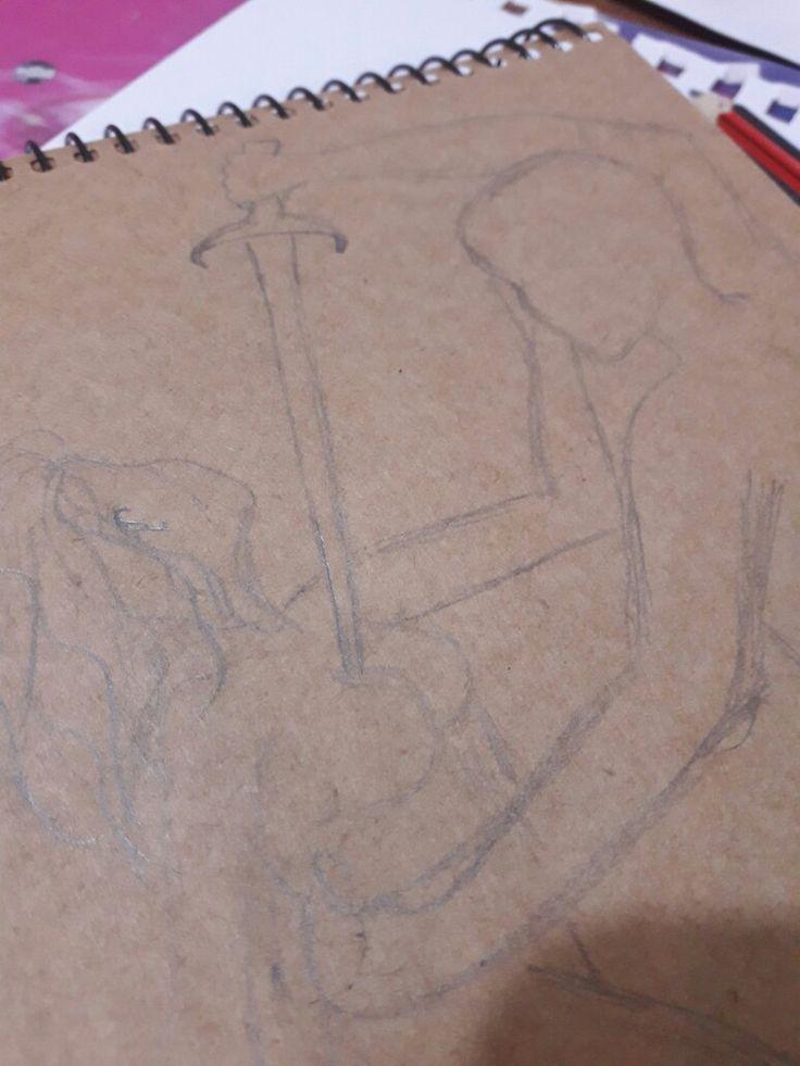#Boceto #grafito #principiante #dibujo #microhistoria