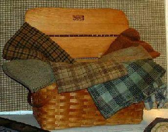 Preparing Wool for Rug Hooking