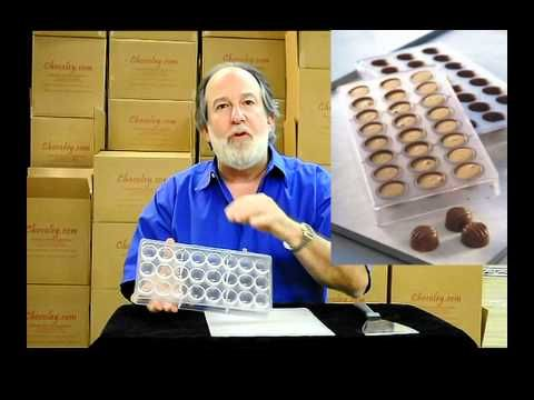 Polycarbonate Chocolate Molds For Chocolate Candy Making - YouTube