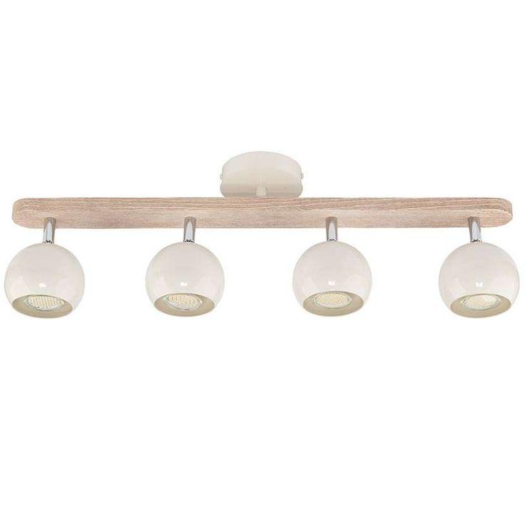Lampa sufitowa BAJA z drewnianymi elementami będzie doskonałym uzupełnieniem nowoczesnych i ekologicznych aranżacji. #mlamp #oświetlenie #lampa #plafon #design #wyposażenie #wnętrz