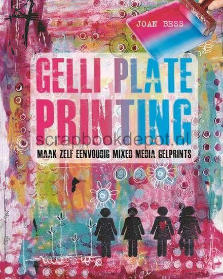 Kosmos Boek - Gelli Plate Printing Bess, Joan