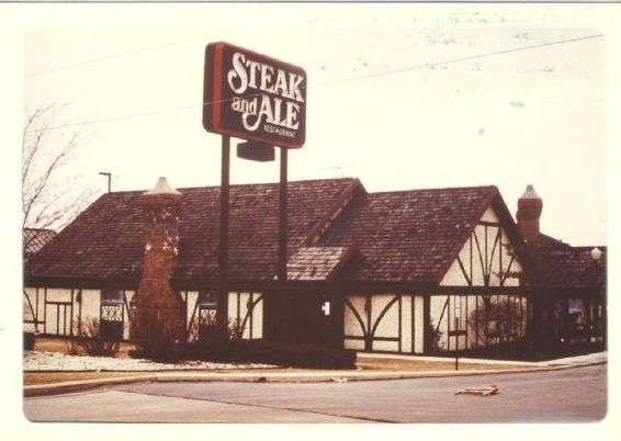Steak and Ale. I still don't know why these closed down. One of my all time…