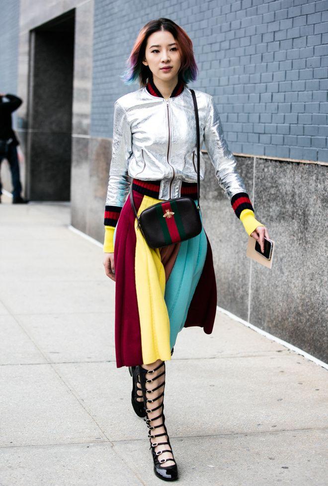 Irene Kim - Street looks à la Fashion Week de New York Fall 2016 - February 2016