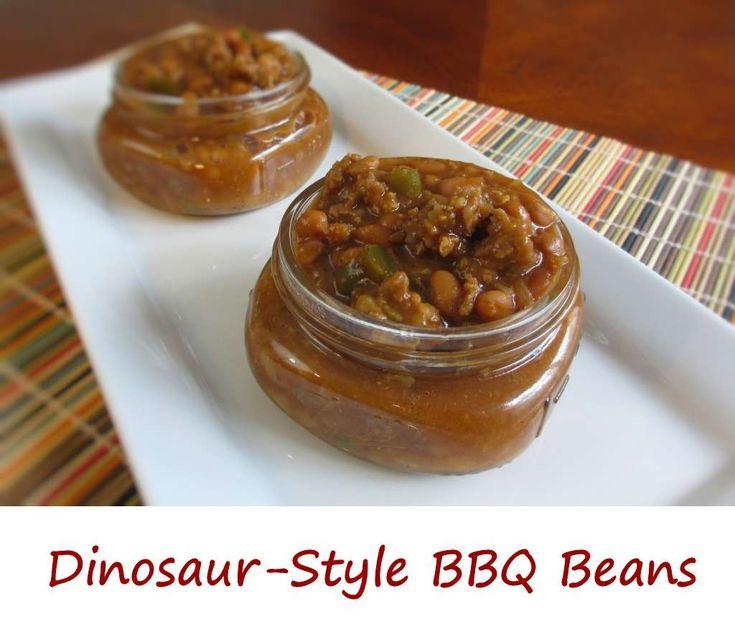 Dinosaur-Style BBQ Beans