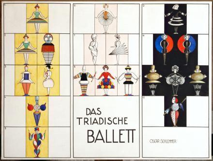Das triadische ballett. Oscar Schlemmer
