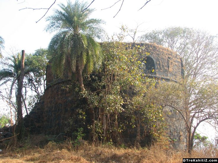Belapur Fort, Belapur, Navi Mumbai, Maharastra. The fort was built by the Siddis of Janjira.