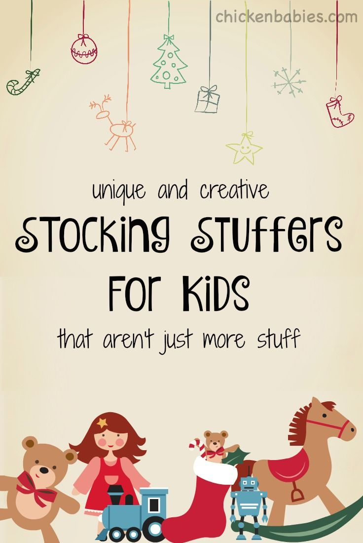 Creative Stocking Stuffers For Kids