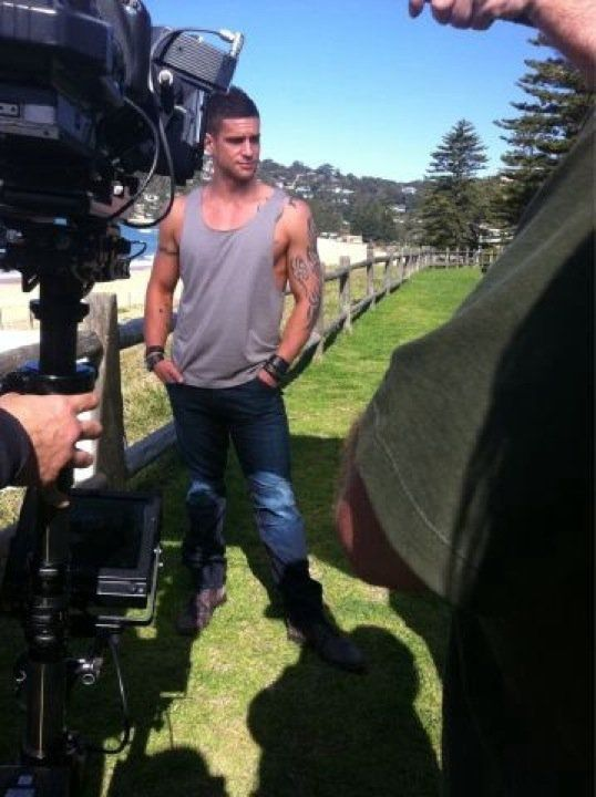 Dan Ewing, Behind The Scenes Of Home And Away.
