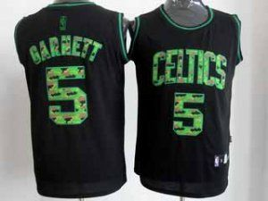 ... Boston Celtics NBA 5 Kevin Garnett Camo Swingman Jersey F315 ... 8a6fc8949