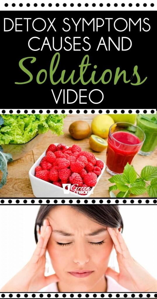 Day 4 Detox Symptoms - Reasons and Solutions