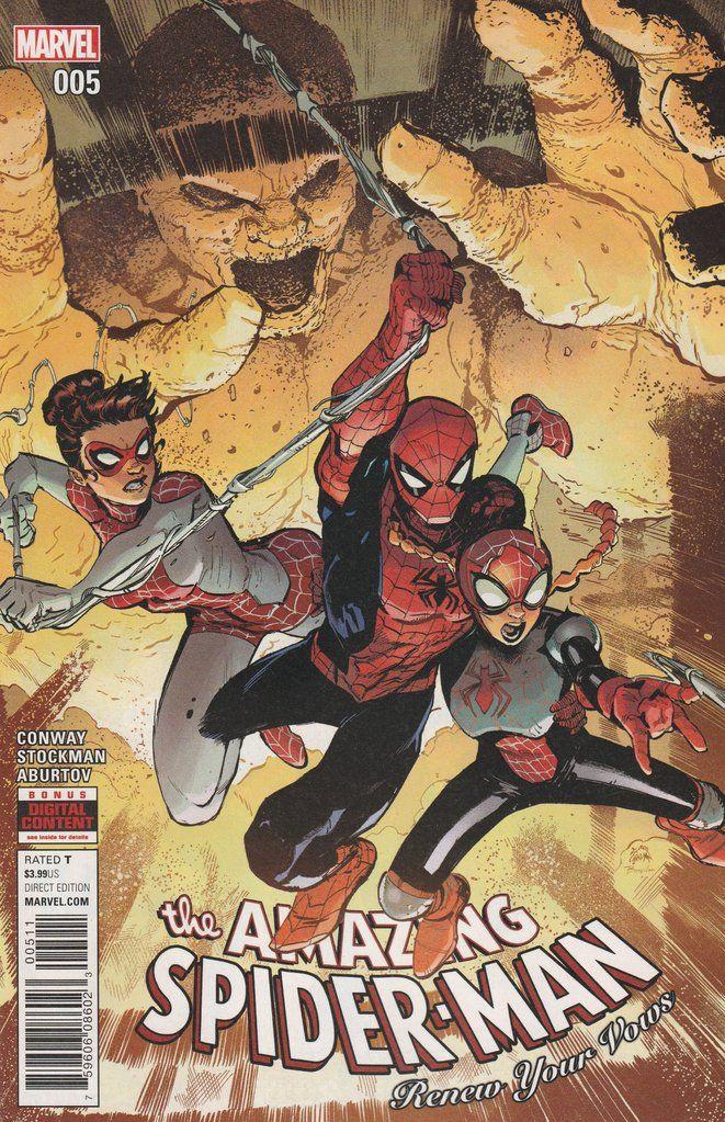 The Amazing Spider-Man: Renew Your Vows # 5 Marvel Comics