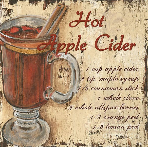 Hot Apple Cider, perfect for Fall!