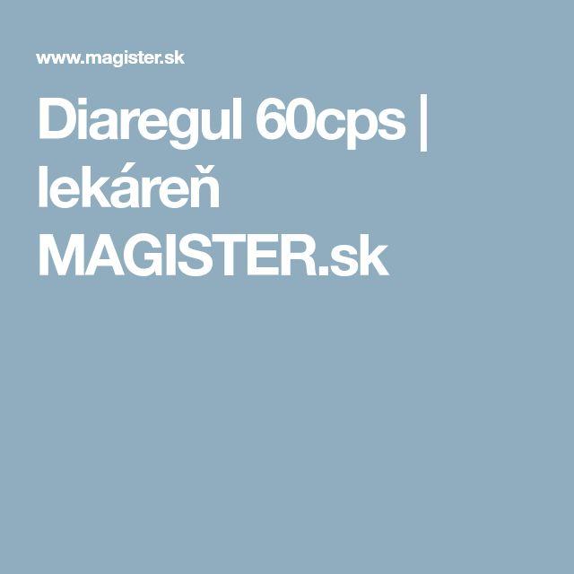 Diaregul 60cps | lekáreň MAGISTER.sk
