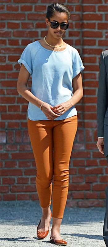 See Malia Obama's Style Evolution - 2013 - from InStyle.com