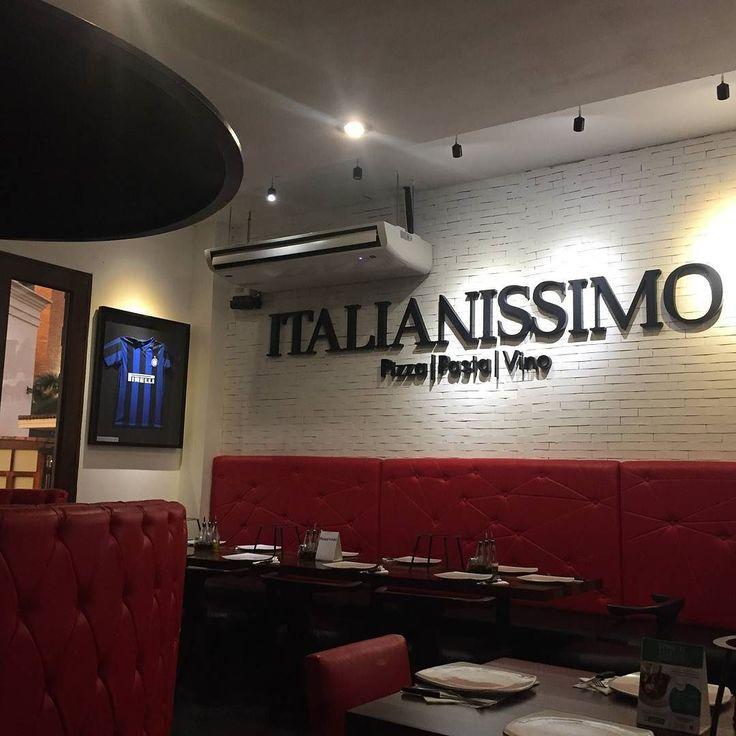 Compartí una cena especial en Italianíssimo.  Etiquetá a esa persona especial con la cual la quisieras disfrutar