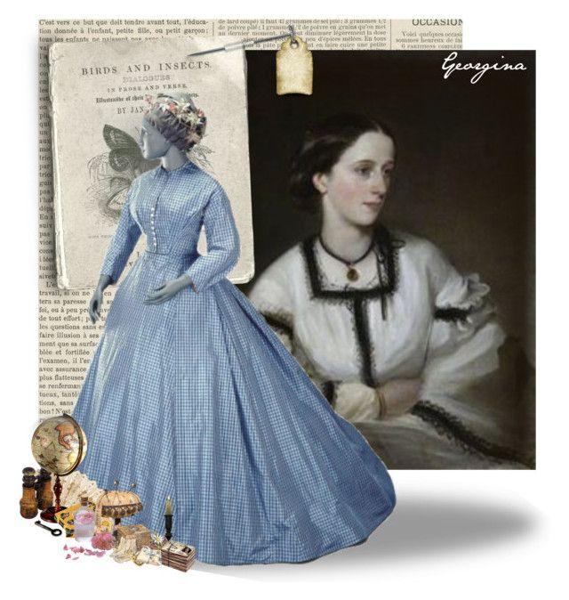 """Lady Georgina Sophia Baillie-Hamilton"" by sh0shan ❤ liked on Polyvore featuring i89707"
