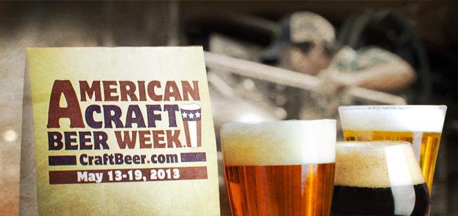 Celebrate American Craft Beer Week May 13th-19th!