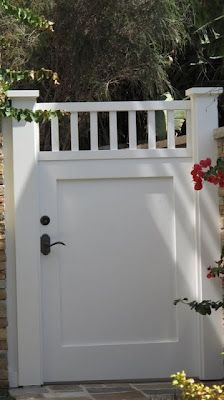 simple gate Want to change my front gate.