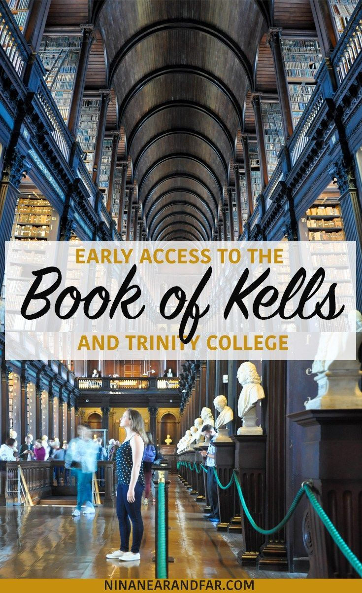 Is it worth it to go on an early access tour to see the Book of Kells while you're in Dublin, Ireland? Decide for yourself!