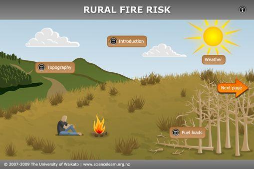 INTERACTIVE: Rural fire risk