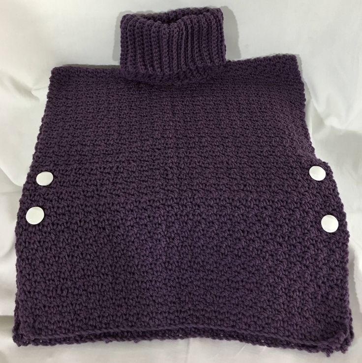 A personal favorite from my Etsy shop https://www.etsy.com/ca/listing/525176762/girls-crochet-pull-over-grape-bubblegum