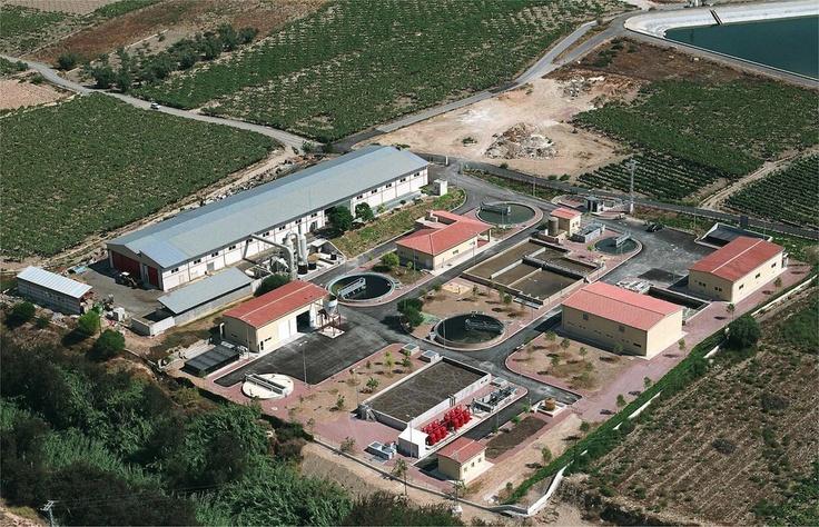 EDAR de Aspe -Alicante- (C.Valenciana) Gestionada por FACSA