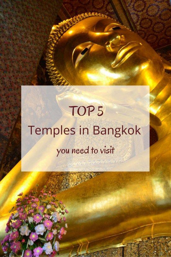 5 Temples in Bangkok Worth Visiting