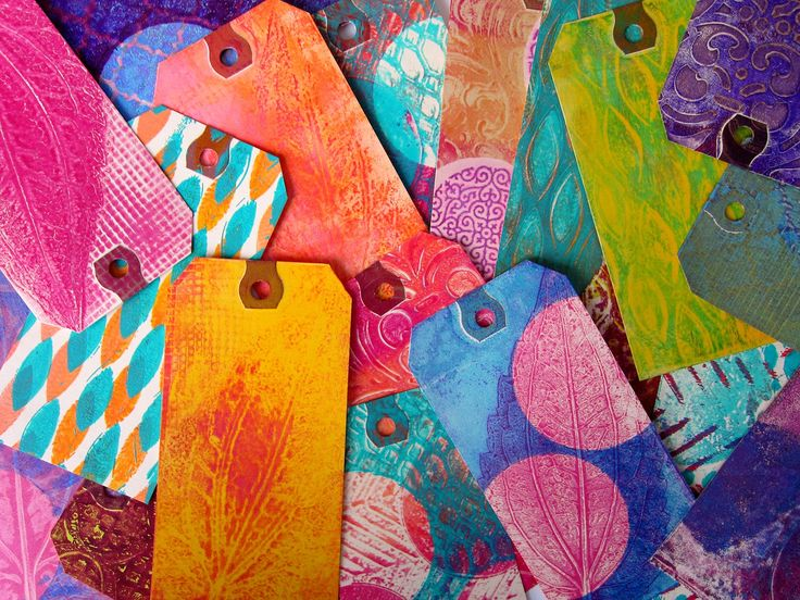 Printing with Gelli Arts®: Printing with Small Gelli™ Plates!