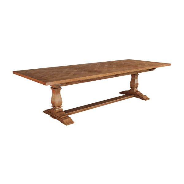 Deauville 3m pedestal dining table available in different sizes. Enquire in store. http://www.shack.com.au/contact-us