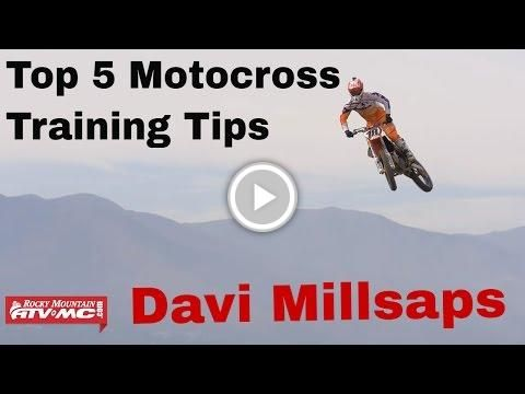 Top 5 Motocross Training Tips with Davi Millsaps | TEAM RMATVMC #DentonMotocross #mx #motocross #mxlife