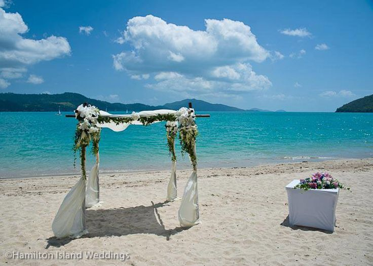 Floral Altar - Photo Courtesy of Hamilton Island Weddings
