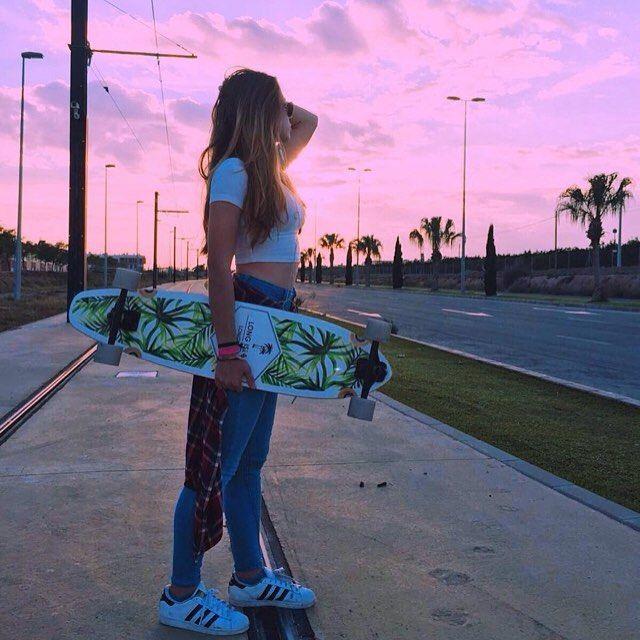 Skate On The Beach