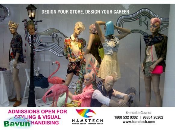 Visual merchandising courses offered by Hamstech Visual Merchandising is the flourishing career prospect in today's competitive market where the customer needs drive the ...