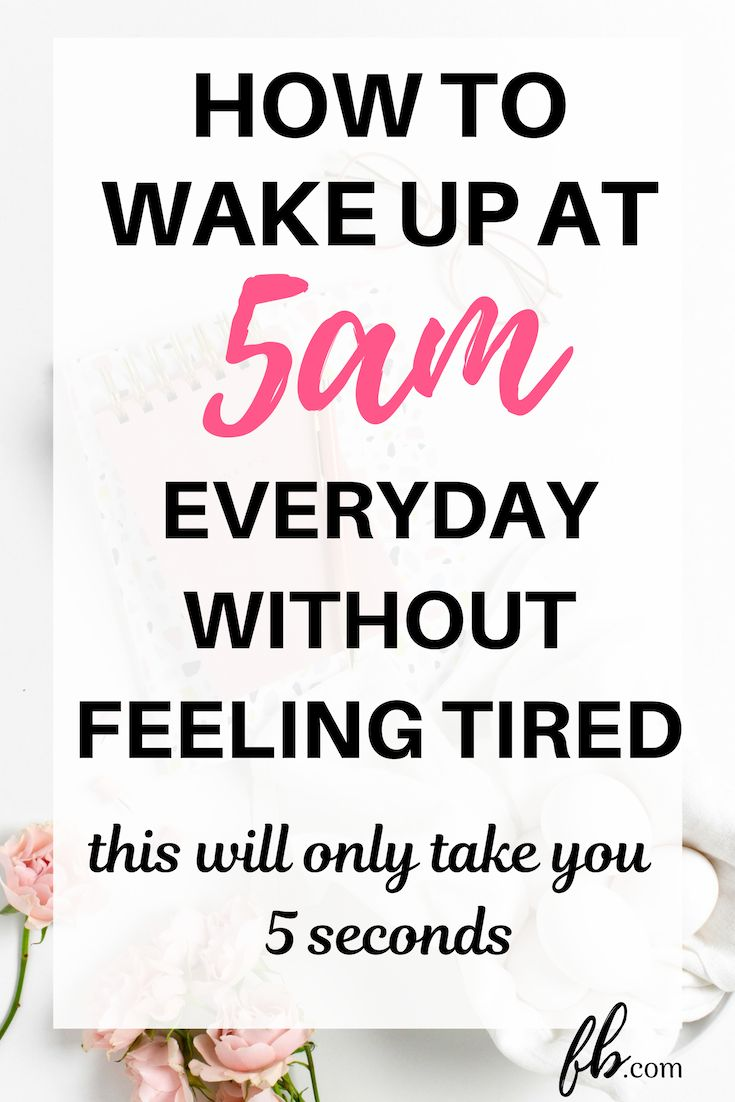 how to wake up at 5 am every day and change your life with this 5-second trick