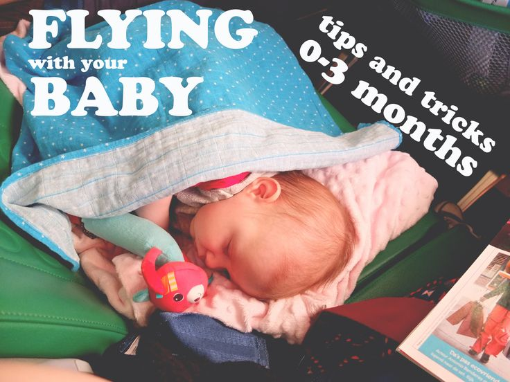 #flying #flying_with_baby #newborn_travel