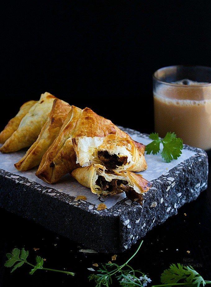 keema samosa indian samosa recipe
