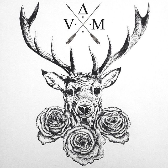deer head drawing tumblr - photo #17