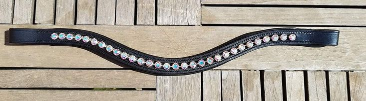 Rainbow browband from Novas Equestrian!