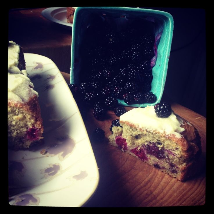 Blackberry Tea Cake from Wise Words (I'm going to try it with ...