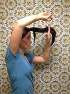 5 DIY ponytail haircuts... How to cut your own hair with this trick.