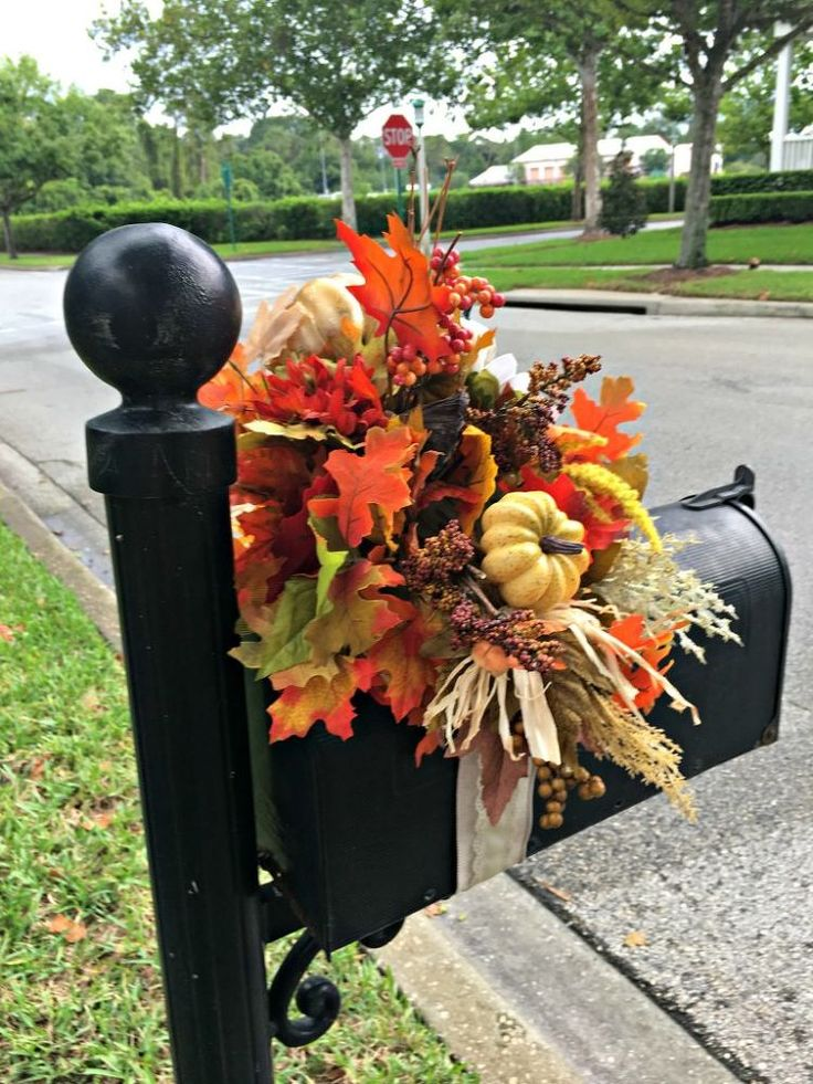 This mailbox idea costs just $25, but it'll have your neighbors rolling down their car windows in admiration!
