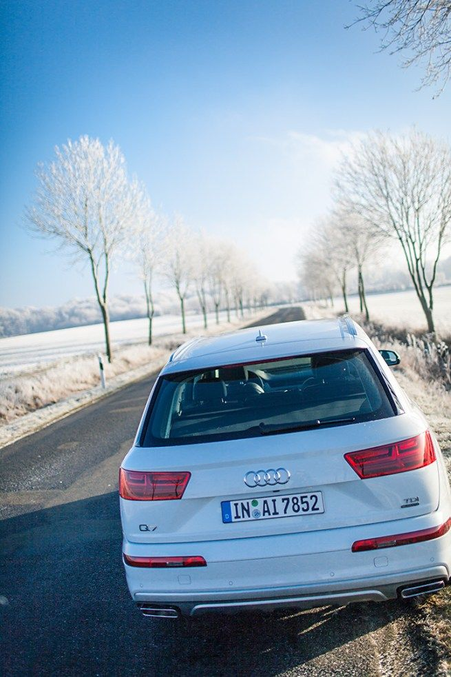 Audi Q7 - Der weiße Elefant. Foto: Sandra Schink