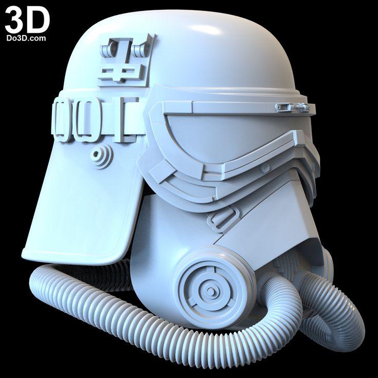 3D Printable Model MudTrooper Swamp Trooper Helmet and