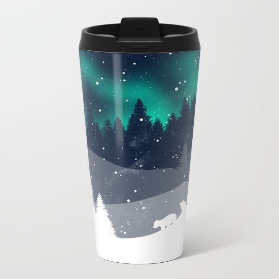Talk about steely good looks. In addition to a 360-degree wraparound design, our metal travel mugs are crafted with lightweight stainless steel - so they're pretty much indestructible. Plus, they're double-walled to keep drinks hot (or cold), fit in almost any size cup holder and are easy to clean.