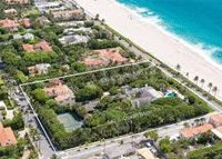Just six months after it hit the market at $47.8 million, billionaire Jon Stryker's Palm Beach estate is under contract.  With 300 feet of sea front, the 2.6-acre estate has three addresses and two vintage houses, including 540 South Ocean Boulevard, which was once owned by singer Jimmy Buff