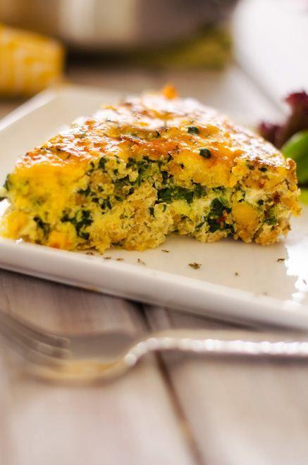 Quinoa, Spinach & Sausage Breakfast Casserole - Cooking Quinoa