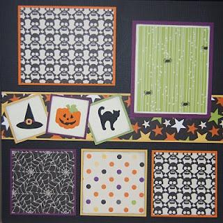 #papercraft #Halloween #scrapbook #layout Check out PaperCraftersCorner.com for…